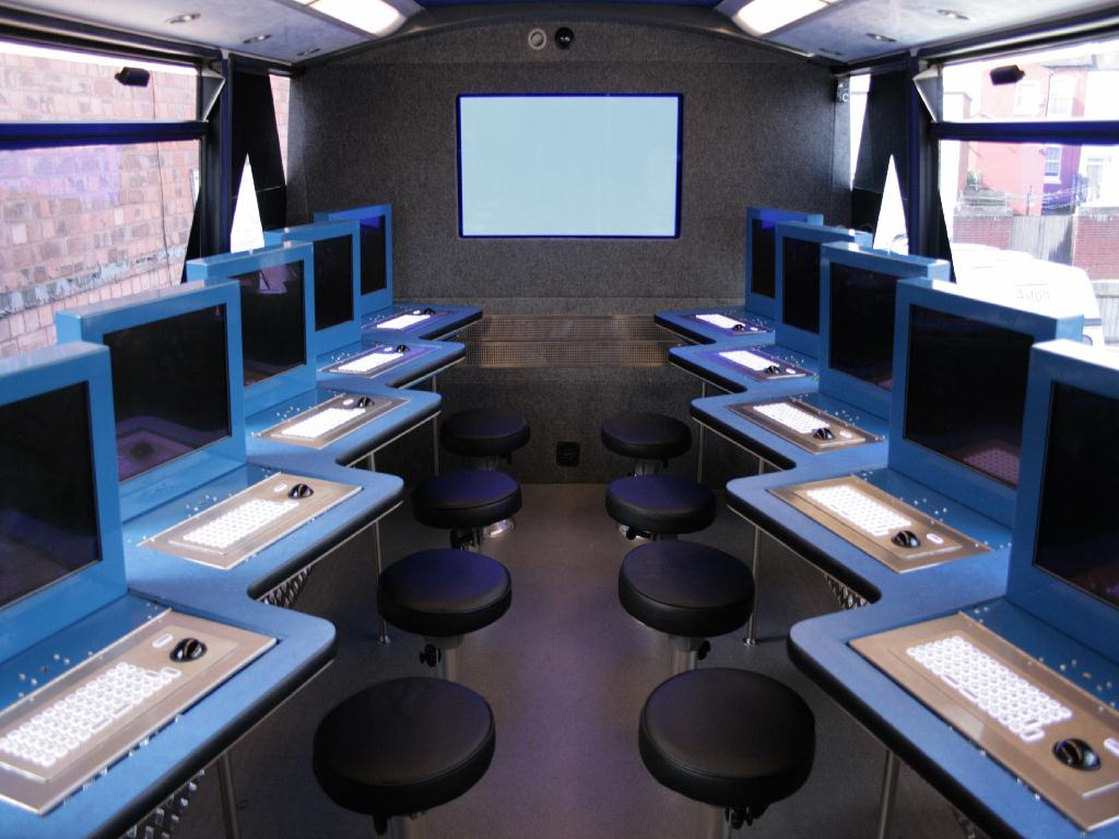 Bus conversion - IT training bus