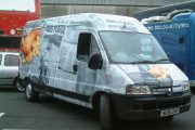 Coast Riders Catering Van