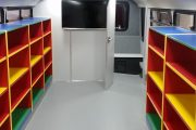 Delves Infant and Primary School Library Bus