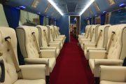 Converted coach interior